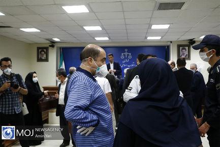 دهمین جلسه دادگاه رسیدگی به اتهامات اخلالگران در حوزه پتروشیمی