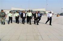 بازدید مدیر کل راه و شهرسازی خوزستان از جاده چذابه