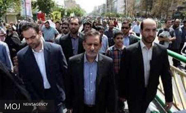 جهانگیری: از آرمان های مهم ملت ایران دفاع از فلسطین است