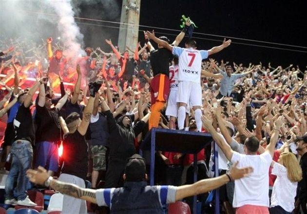 درخواست باشگاه پانیونیوس از هوادارانش پس از عدم پخش تلویزیونی بازی اروپایی