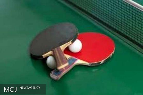 آغاز مسابقات قهرمانی تنیس روی میز دختران کشور به میزبانی خرم آباد