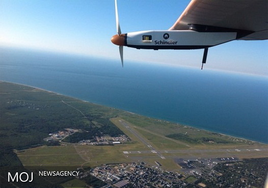 ثبت رکورد هواپیمای خورشیدی در عبور از اقیانوس اطلس