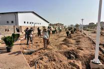 عملیات عمرانی بوستان عترت در پردیسان تکمیل شد