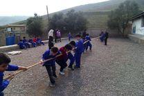 برگزاری بازی های بومی و محلی در مجتمع آموزشی پرورشی ولایت روستای اسکلک