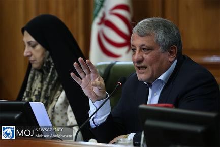 یکصد و شصت و نهمین جلسه شورای شهر تهران/ محسن هاشمی