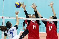 بانوان والیبالیست ایران از سد تیم باشگاهی اسلوونی گذشتند
