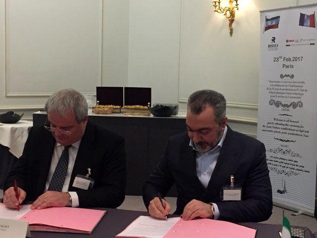 امضای دومین قراردادجوینت ونچر قطعهسازی ایران و فرانسه