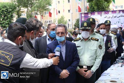دومین مرحله از اجرای طرح کاشف پلیس پایتخت