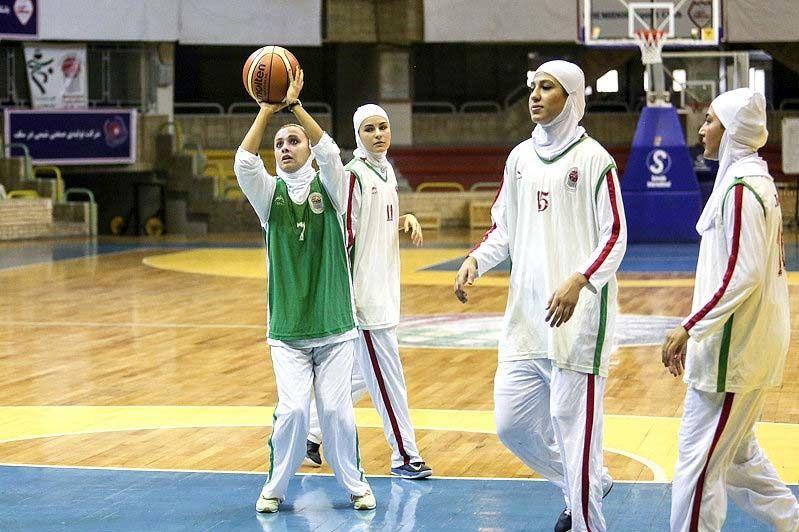 حریفان دختران بسکتبالیست مشخص شدند