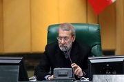 اظهارات لاریجانی درباره جلسه غیرعلنی صبح امروز مجلس