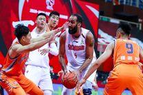 حامد حدادی یکی از سه بازیکن برتر لیگ حرفهای بسکتبال چین شد
