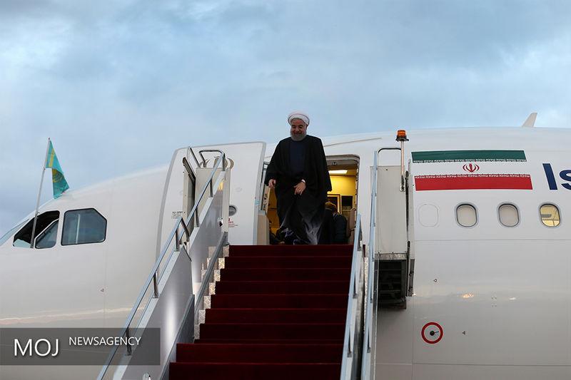 رئیس جمهور دیشب به تهران بازگشت