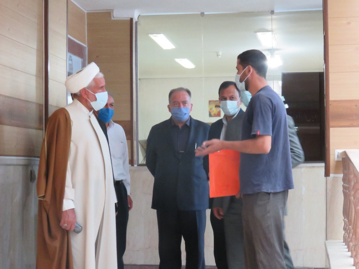 بازدید سرزده بازرس کل استان یزد و هیات همراه  از منطقه ۲ شهرداری یزد