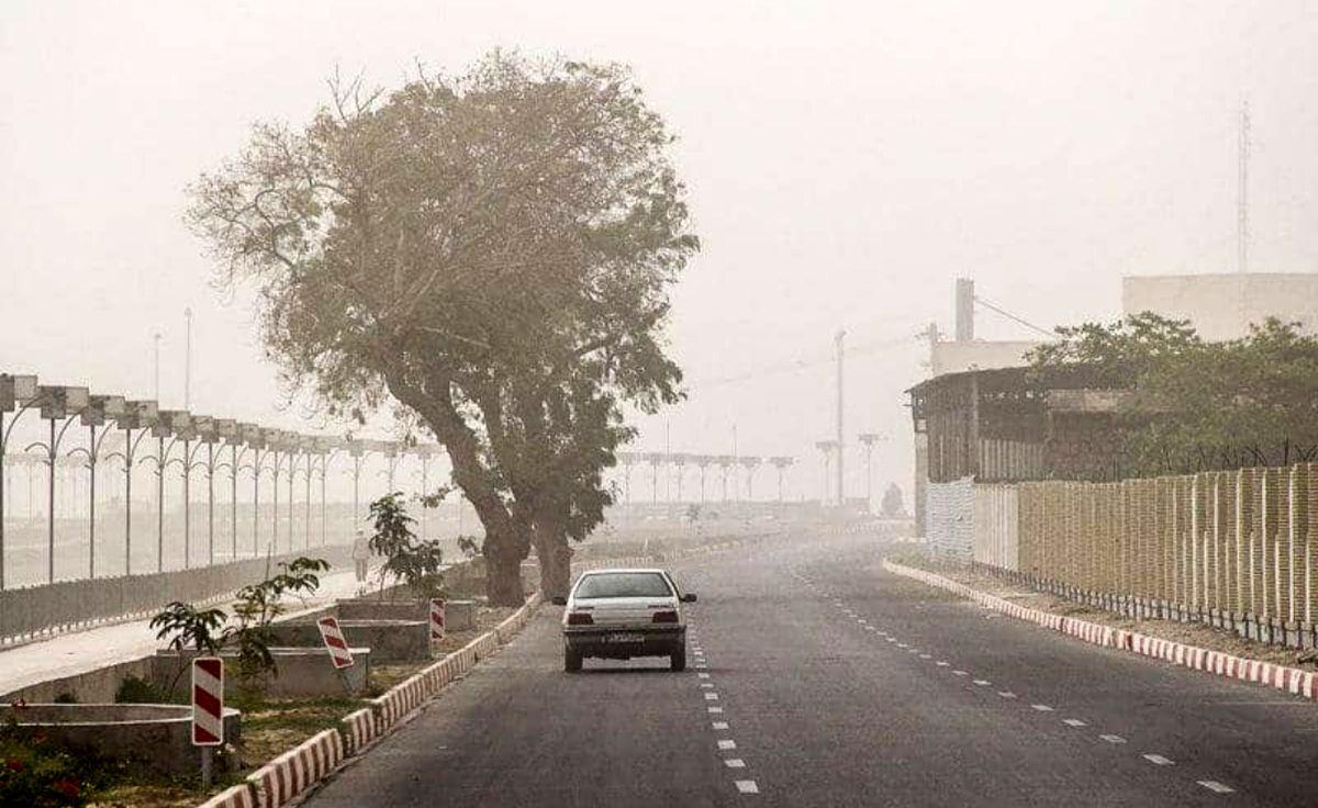 تداوم وضعیت ناسالم کیفیت هوا در بندرعباس