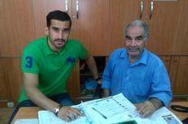 حاج صفی قراردادش را در هیات فوتبال ثبت کرد