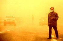 گرد و غبار  امروز خوزستان سیر صعودی داشت