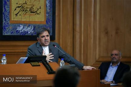 جلسه شورای شهر تهران با حضور وزیر راه و شهرسازی