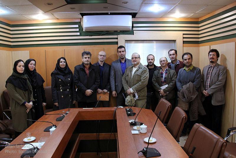 معرفی اعضای هیات موسس انجمن هنرهای تجسمی استان گیلان
