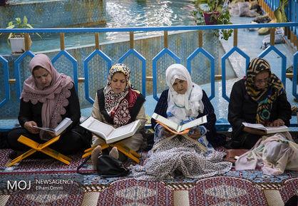 جزء+خوانی+قرآن+کریم+در+مسجد+جامع+سنندج