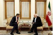ظریف با رئیس کمیته بینالمللی صلیب سرخ دیدار کرد