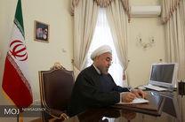 روحانی در پیامی روزملی لبنان را تبریک گفت