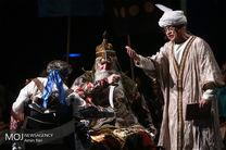 نمایش رستم و سهراب با هنرمندانی از معلولین موسسه کهریزک