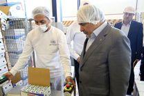 بازدید مدیرعامل بانک کشاورزی از واحد های تولیدی صنایع غذایی