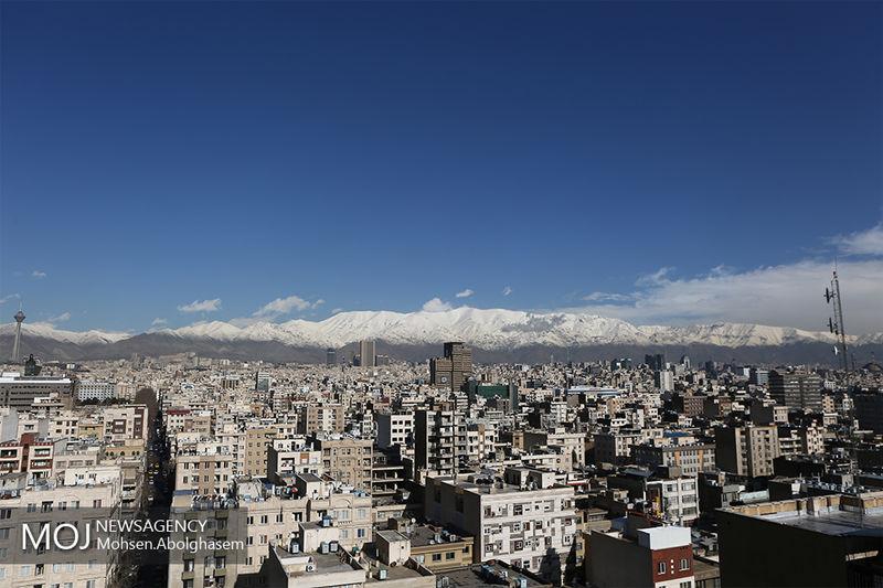 کیفیت هوای تهران ۷ اسفند ۹۸ پاک است/ شاخص کیفیت هوا به ۲۶ رسید