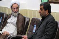 دیدار عزت الله ضرغامی با نماینده ولی فقیه در گیلان