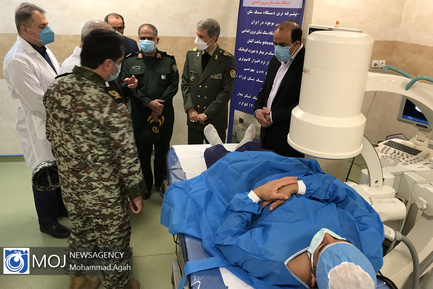 افتتاح مرکز درمانی شهید فتح آبادی ویژه بیماران کرونایی