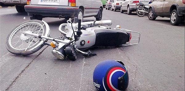 افزایش تصادفات موتورسیکلتی در پاندمی کرونا