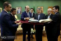 دیدار وزیر فرهنگ وارشاد اسلامی با وزیر فرهنگ آذربایجان