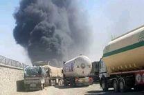 آتشسوزی تانکرهای حامل گاز در هرات