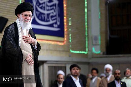 دیدار مسئولان نظام و سفرای کشورهای اسلامی با حضرت آیت الله خامنه ای رهبر انقلاب اسلامی