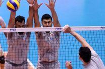 تیم ملی والیبال در سالن ۱۲ هزار نفری تمرین کرد