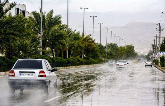 بارندگی در هرمزگان ادامه دارد/خودداری از تردد در حاشیه رودخانه ها