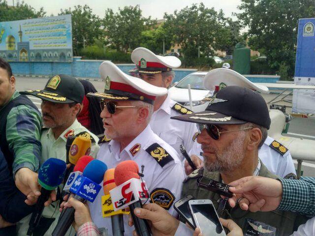 آغاز فعالیت گشتهای نامحسوس پلیس راهور در 10 استان