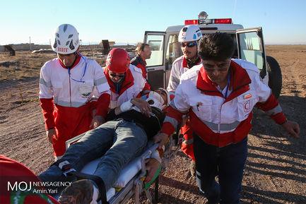 مانور بهداشت و درمان جمعیت هلال احمر