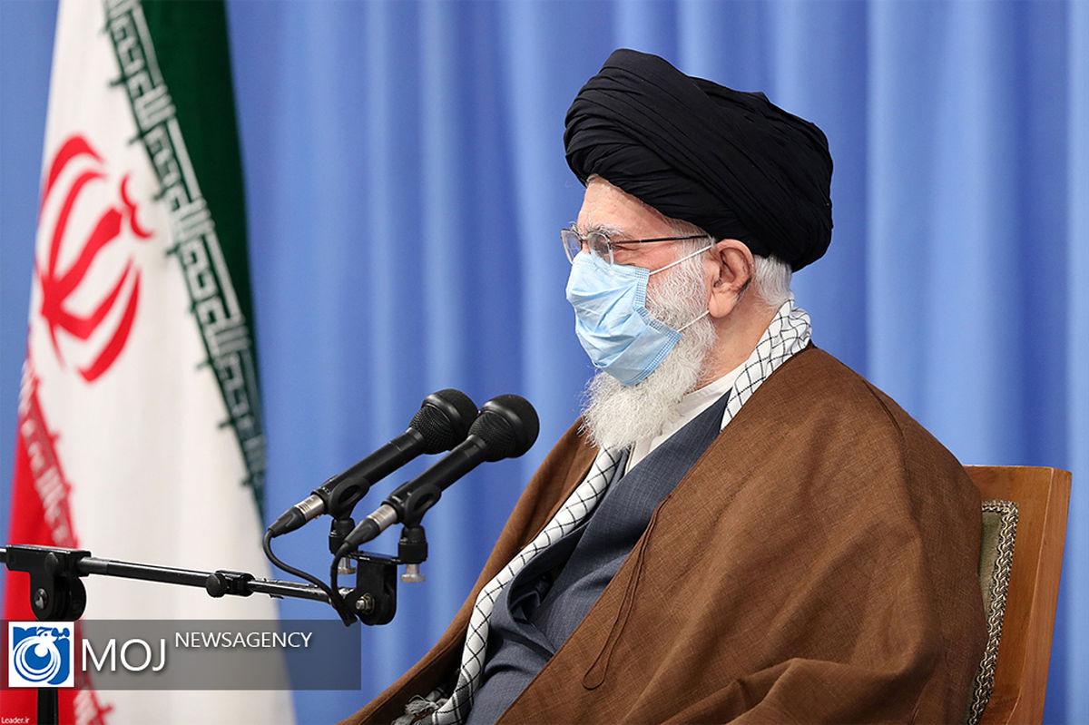 رهبر انقلاب اسلامی به صورت زنده و تلویزیونی با مردم سخن خواهند گفت