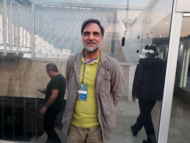 حضور کارگردان مشهور در ورزشگاه آزادی