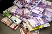 کاهش ارزش یورو در برابر دلار