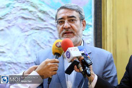بیست و هشتمین جلسه ستاد اطلاع رسانی و تبلیغات اقتصادی کشور / عبدالرضا رحمانی فضلی وزیر کشور