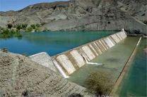 آبگیری ۵۲ سازه آبخیزداری در حاجی آباد