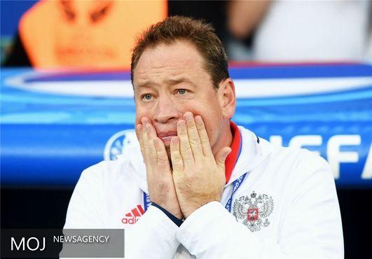 فدراسیون فوتبال روسیه با استعفای اسلوتسکی موافقت کرد