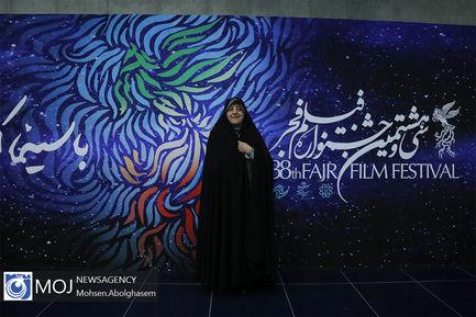 بازدید ابتکار از سینمای رسانه جشنواره فیلم فجر