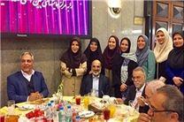 دیدار مجریان رادیو و تلویزیون با رئیس سازمان صداوسیما