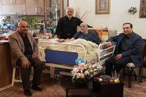 حسین انتظامی به مناسبت روز ملی سینما به عیادت شورجه رفت