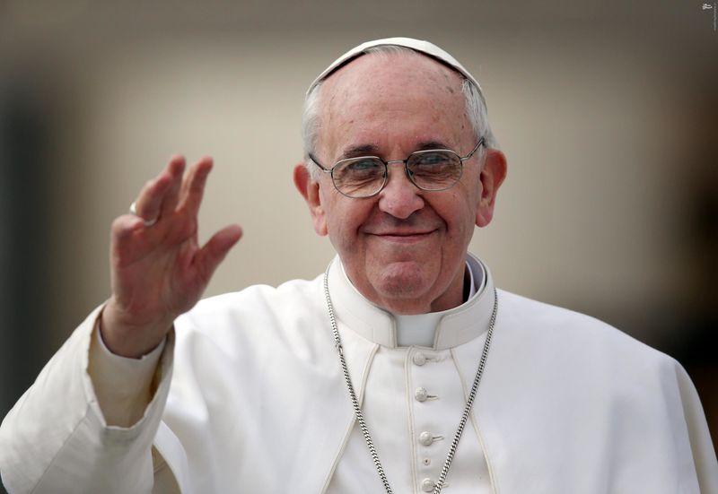 استقبال رسمی راشد از پاپ