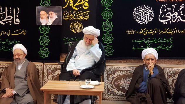 سومین روز عزاداری شهادت فاطمه(س) در بیت نماینده ولی فقیه در گیلان برگزار شد