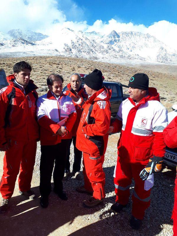 رئیس سازمان امداد و نجات هلالاحمر کشور وارد «دناکوه» شد